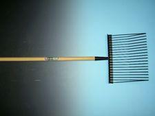 Paardenvijgvork metaal+steel 150x2 8cm