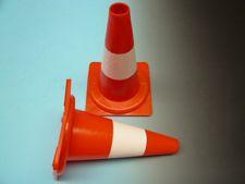 Pilon oranje - wit 32 cm