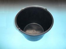 Bouwemmer GRIPLINE 20 liter zwart met he